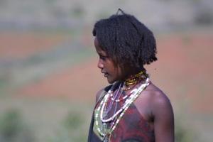 Borena girl, Ethiopia